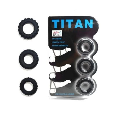 Vòng đeo dương vật Titan Cockring chống xuất tinh sớm tăng khoái cảm Nữ giới