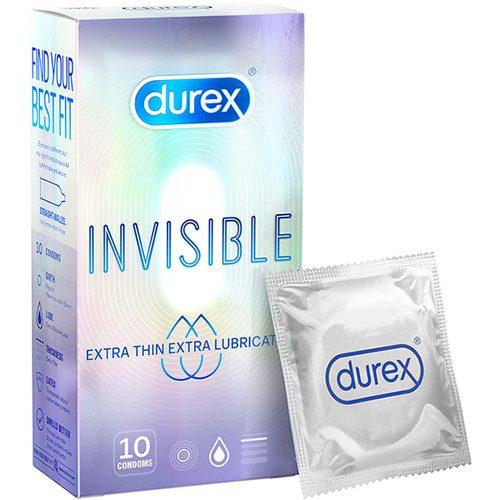 Bao cao su Durex Invisible Extra Thin Extra Sensitive bán Đà Nẵng.